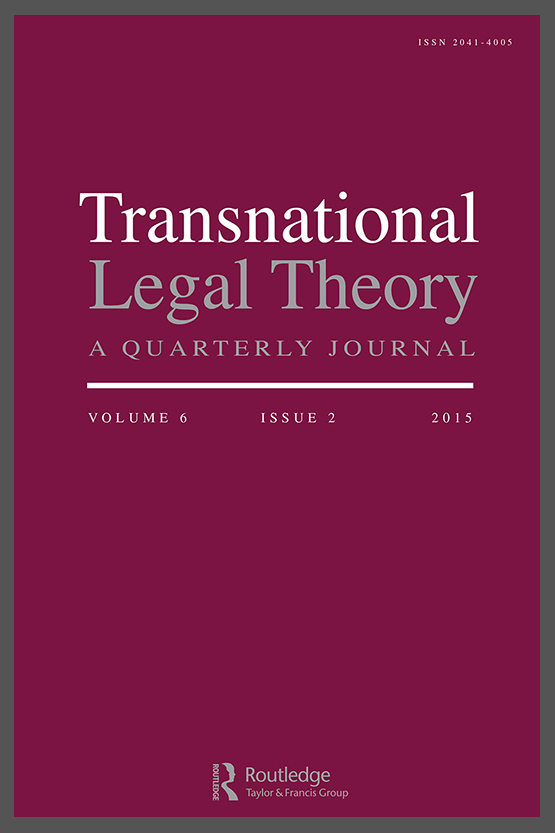 Transnational Legal Theory cover image