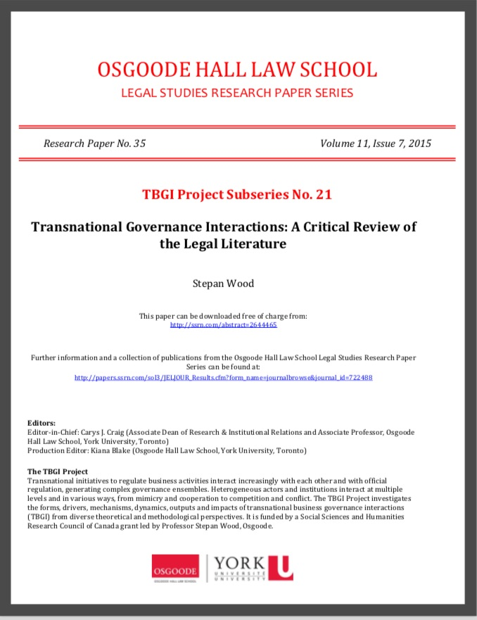 TBGI Working Paper 21 cover image