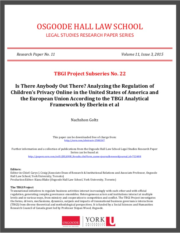 TBGI Working Paper 22 cover image